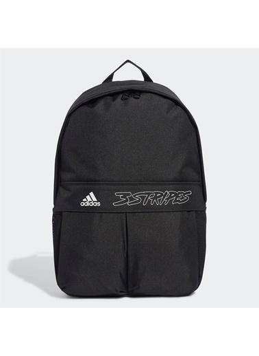 adidas Adidas FT8757 CLASSIC BP WEB SIRT VE OKUL ÇANTASI Siyah